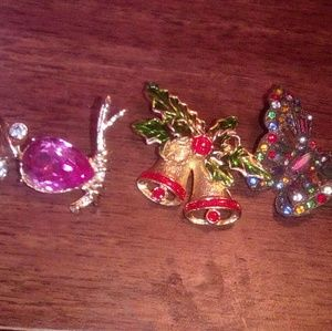 Pins 3 $10 for all 3 pins
